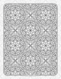Printable Ornamental Mandala Coloring Pages 06