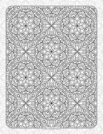 Printable Ornamental Mandala Coloring Pages 06