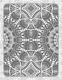 Printable Ornamental Mandala Coloring Pages 07