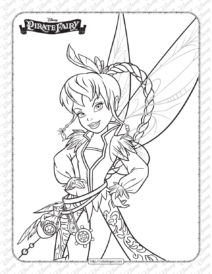 Printables Disney Pirate Fairy Fawn Coloring Page
