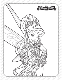 Printables Disney Pirate Fairy Vidia Coloring Page