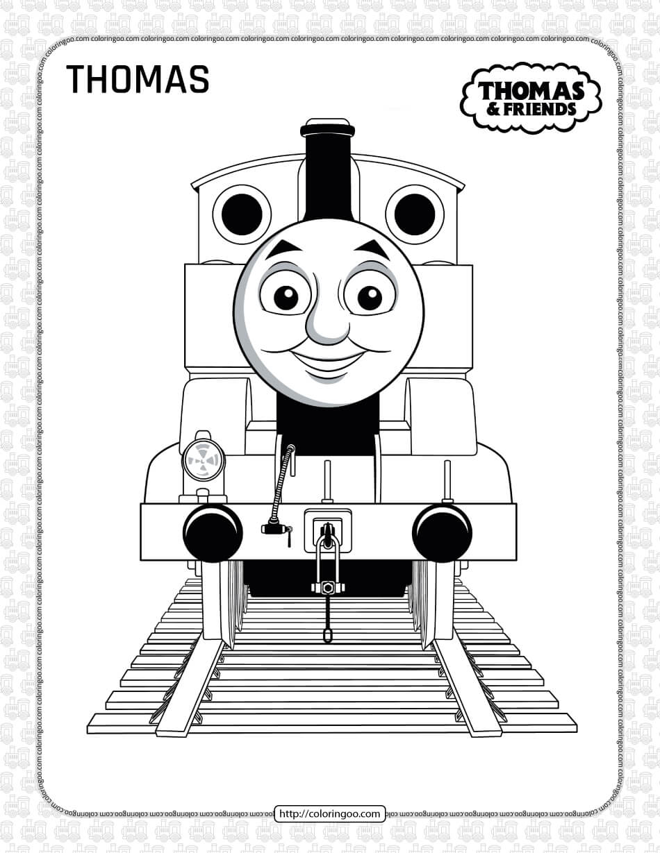 Printables Thomas and Friends Coloring Page
