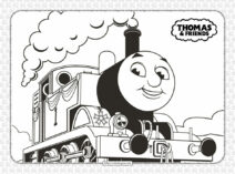 Printables Thomas and Friends Coloring Pages