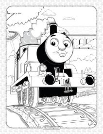 Printables Thomas and Friends Coloring Sheet