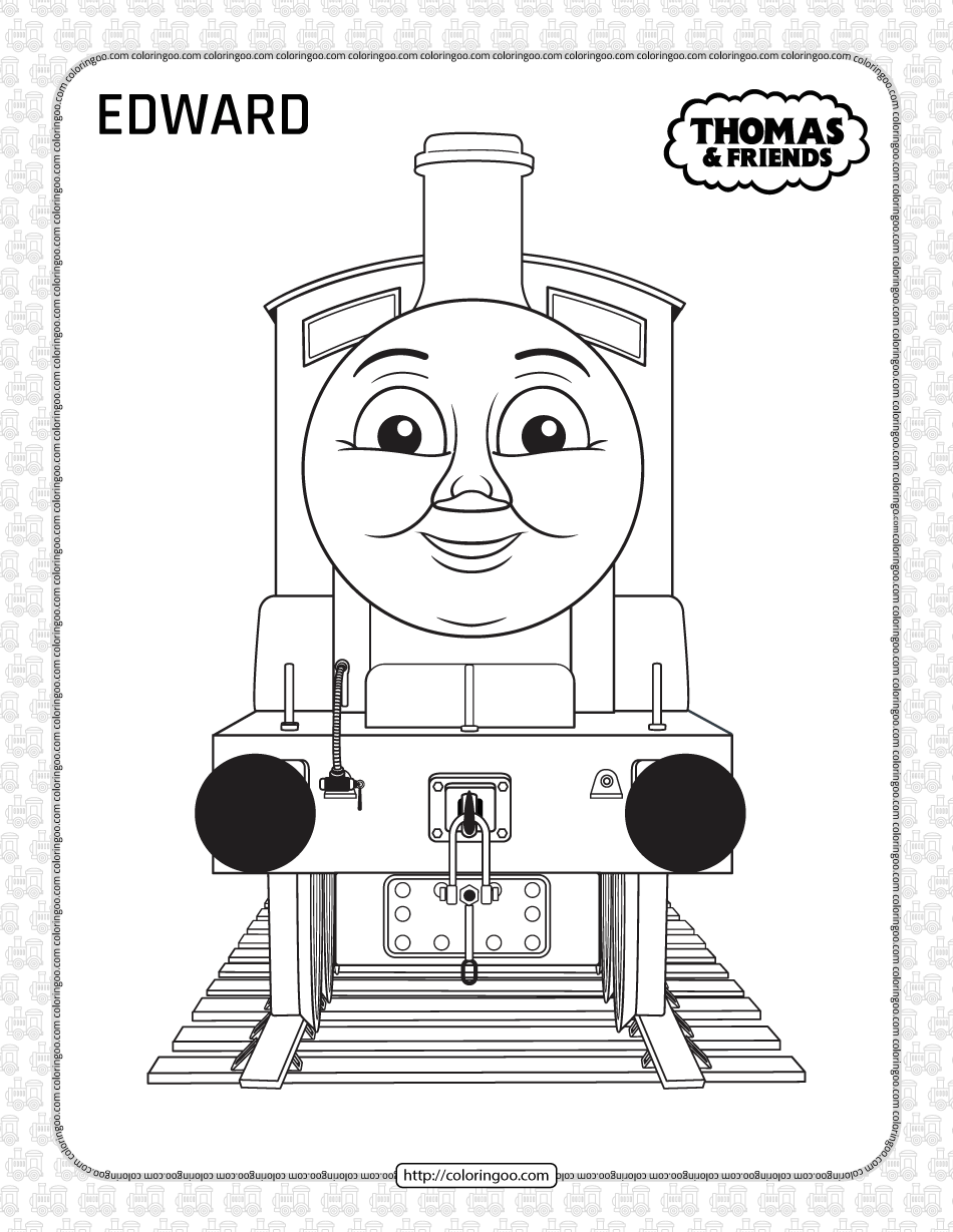 Printables Thomas and Friends Edward Coloring Page