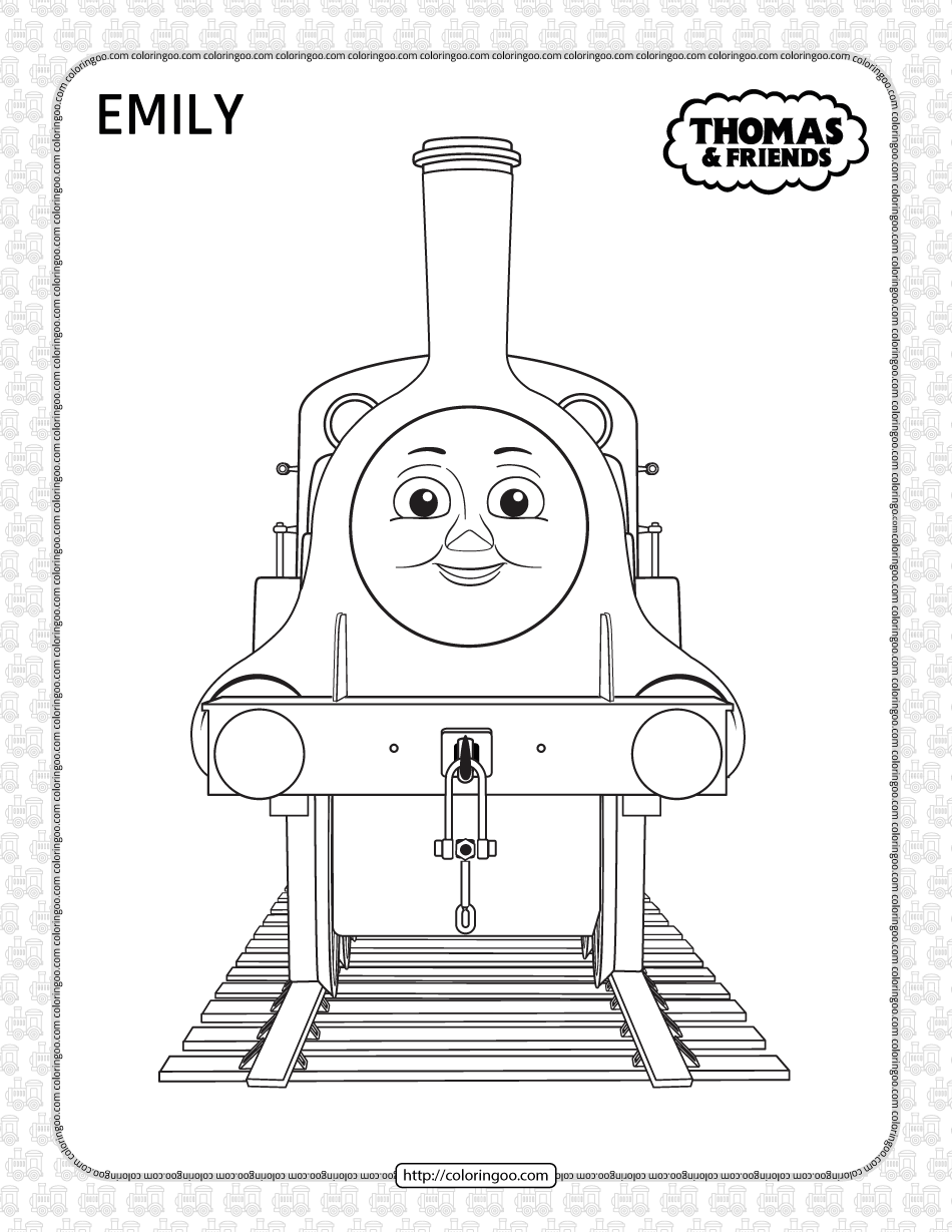 Printables Thomas and Friends Emily Coloring Page