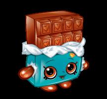 Printable Shopkins Cheeky Chocolate Coloring Page