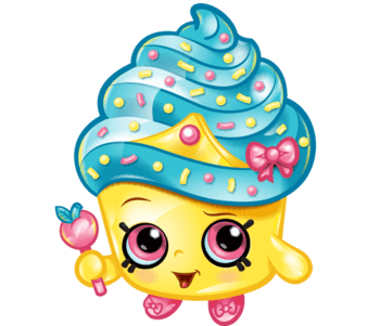 Free Printable Shopkins Cupcake Queen Coloring Page