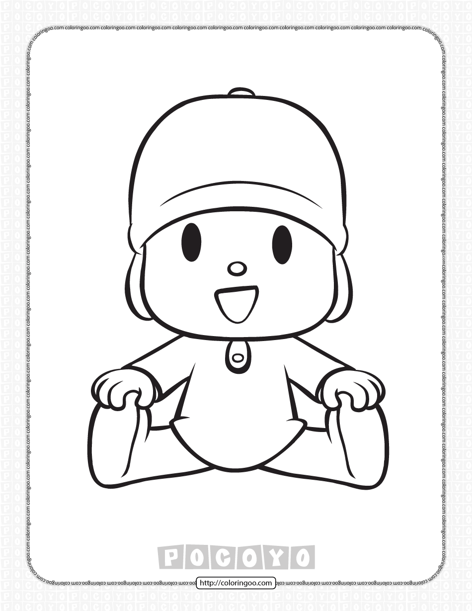 Free Printable Pocoyo Coloring Pages