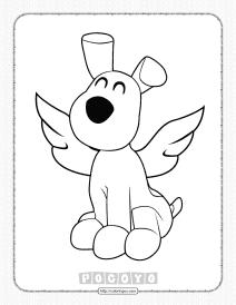 Free Printable Pocoyo Loula Coloring Pages