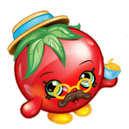 Free Printable Shopkins Papa Tomato Coloring Page