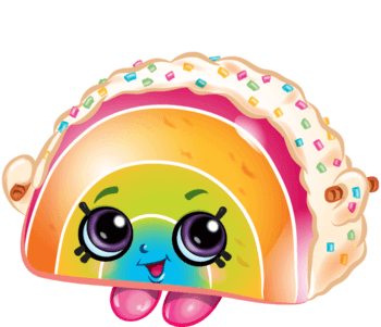 Free Printable Shopkins Rainbow Bite Coloring Page