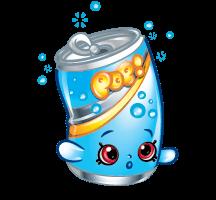 Free Printable Shopkins Soda Pops Coloring Page