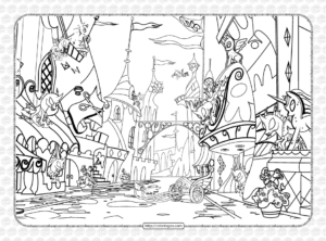 MLP Where is the Changelings Coloring Page