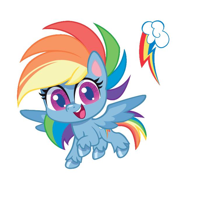 Printable MLP Rainbow Dash Coloring Page