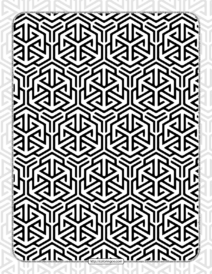 Free Printables Hexagon Pattern 001