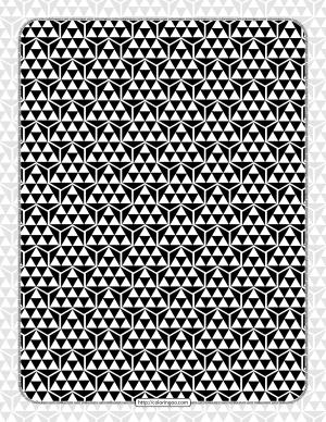 Free Printables Hexagon Pattern 002