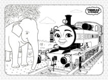 Free Thomas and Friends Pdf Coloring Book