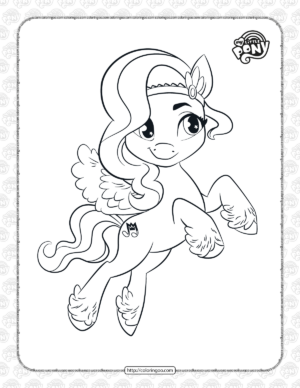 My Little Pony Pipp Petals Coloring Pages