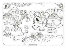 Printable Mcdonald's Pdf Coloring Book