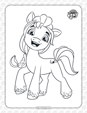 Printable MLP Sunny Starscout Coloring Pages