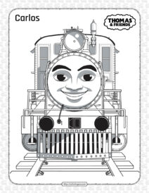 Printables Thomas and Friends Carlos Coloring Page