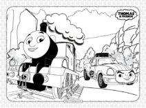 Printable Thomas and Friends Coloring Book