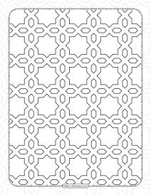Free Printable Pdf Geometric Pattern 040