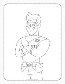 Printable Henry Danger Pdf Coloring Pages