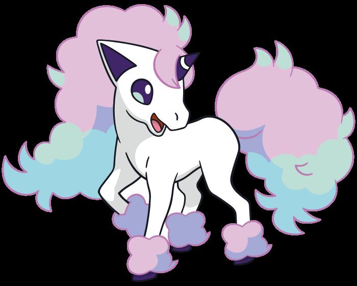 Pokemon Galarian Ponyta