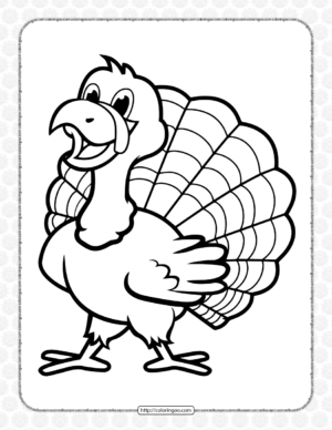 Thanksgiving Pdf Coloring Pages